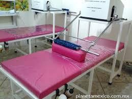 Cama para masaje con rodillos reductivo