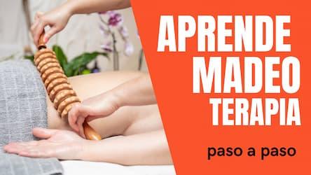 como dar un masaje con maderoterapia